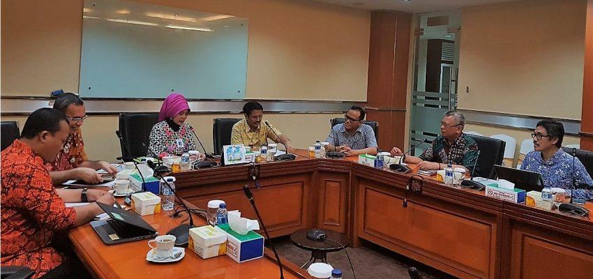 Kunjungan Ketua Umum ADINKES ke BPJS Kesehatan