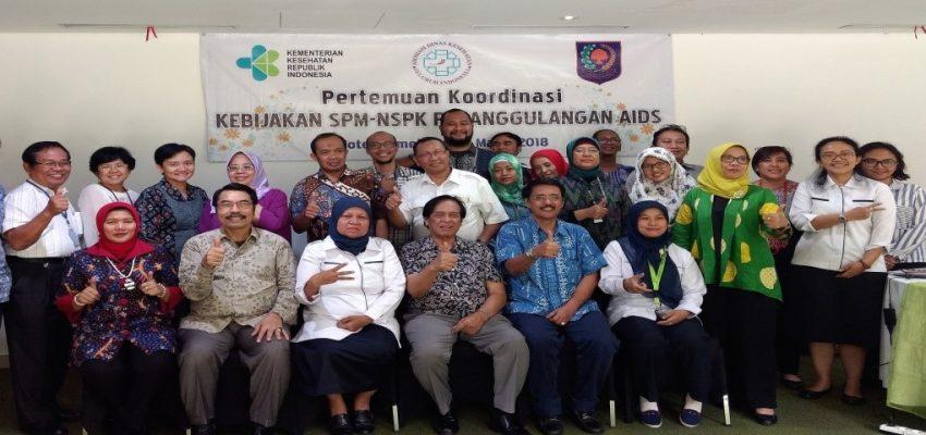 Pertemuan Koordinasi Kebijakan SPM-NSPK Penanggulangan AIDS