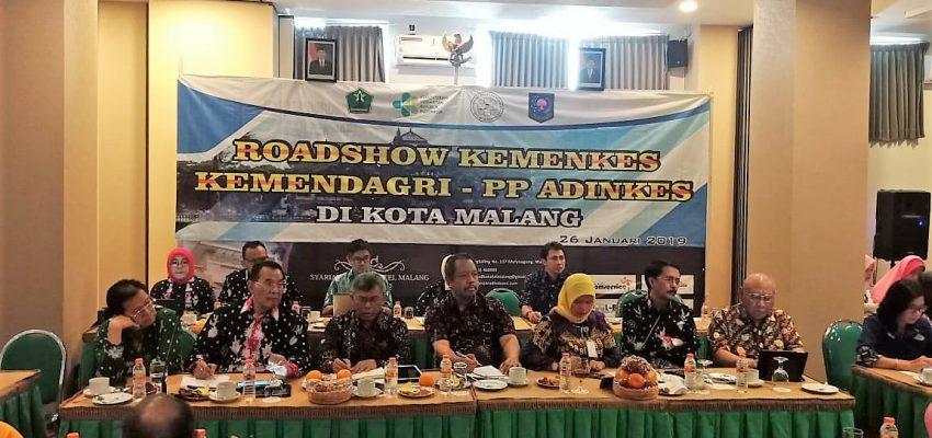 Roadshow Koordinasi Kebijakan Pembangunan Kesehatan